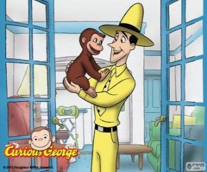 Puzle Zvědavý George a Ted