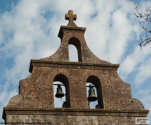 Puzle Zvonice kostela