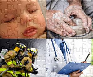 Puzzles Lidé a Práce