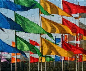 Puzzles Vlajky, Státní znak a Loga