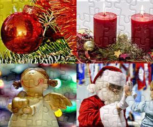 Puzzles Vánoce