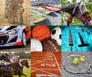 Puzzles Sport a Dobrodružství