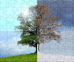 Puzzles Roční období a Slavnosti