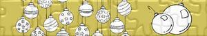 Puzzle Vánoční cetky
