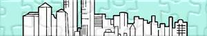 Puzzle Města a Vesnice