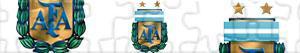 Puzzle Argentina fotbalová liga - Primera División AFA
