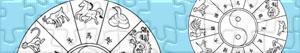 Puzzle Čínský horoskop