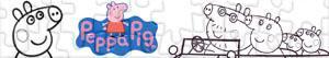 Puzzle Peppa Pig -  Prasátko Peppa