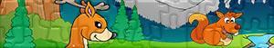 Puzzle Lesní zvířata