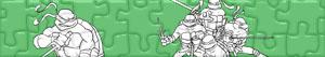 Puzzle Želvy Ninja