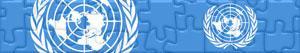 Puzzle Vlajky a Loga Spojené národy - ONS