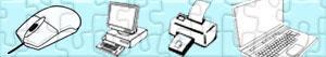 Puzzle Počítač