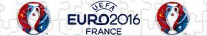 Puzzle UEFA EURO 2016 Francie